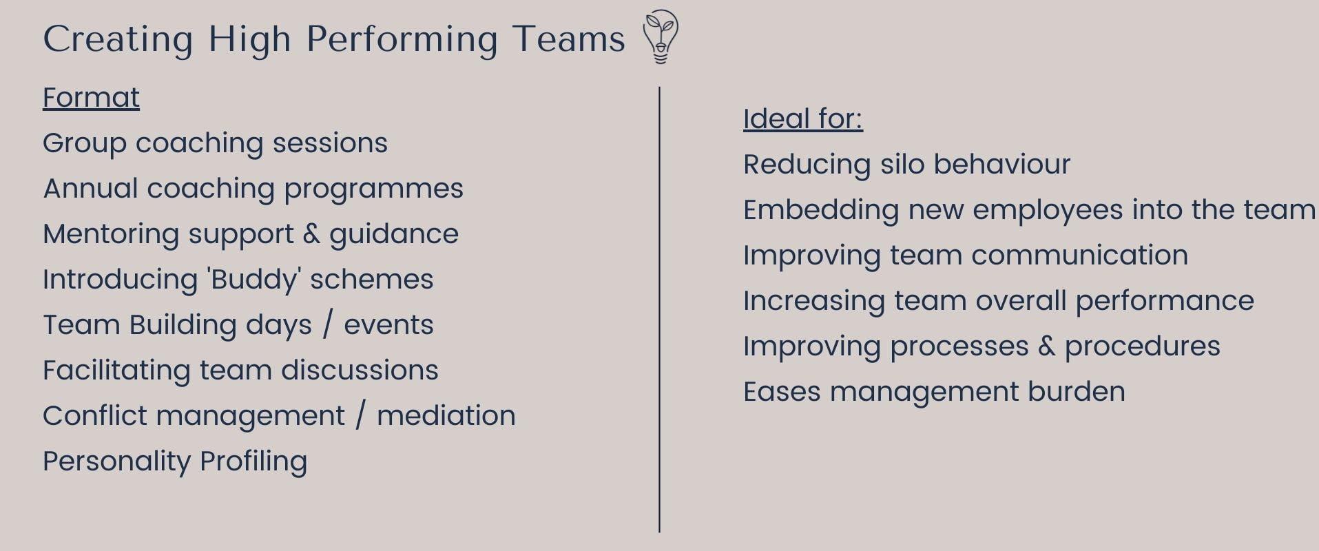 creating high performing teams with eurika